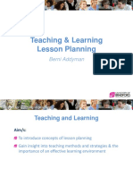 teachingandlearninglessonplanning-131125013930-phpapp01