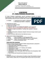 Pt Pama Persada Nusantara