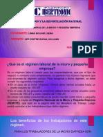 Regimen Laboral de MYPE