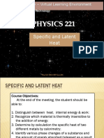 Physics (latent heat)