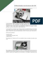 Impresora 3D Reciclada Con Lectores de CD y Arduino