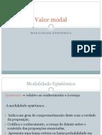 Gramática valor modal