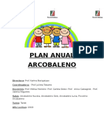 Arcobaleno Plan Abril 2018