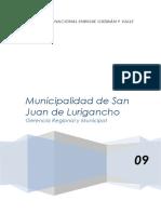 Gerencia Municipal y Regional  Monografia de SJL.docx