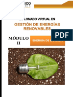 GESTION DE ENERGIAS RENOVABLES