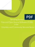 FOSS Consultation Report for VCS