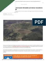 Barragem Em Barão de Cocais_ Simulado Vai Treinar Moradores Para 7 Pontos de Fuga _ Minas Gerais _ G1