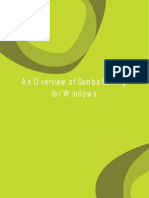 Overview of Samba Serving for Windows