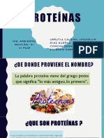 Proteinas Quimica Expo