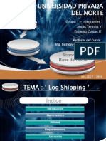 Log Shipping Upn Soporte Bd