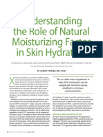 Understanding the Role of NMF in Skin Hydration