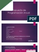 Propuesta de Programación