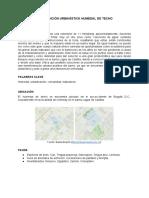 Intervención Urbanística Humedal de Techo