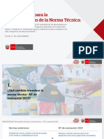 Ppt rvm 025-2019 MINEDU sobre evaluación