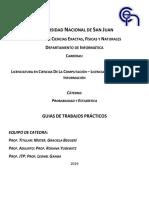 Guías de Trabajos Prácticos 2019
