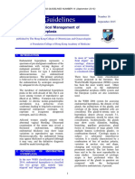 Guidelines on Clinical Management of Endometrial Hyperplasia