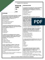 Banco de Preguntas de Historia Del Perú 2