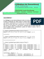 Javascript - Les Strings (Chaînes de Caractères)