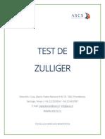 Manual Test de Zullinger