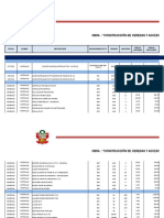 Liquidacion Finaciera - Plaza Cachicoto