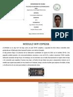Ricardo Alvarez Sevilla Modulo Esp8266