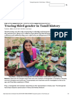 Tracing Third Gender in Tamil History - DTNext.in