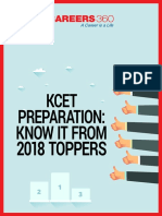Kcet 2018 Toppers