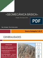 Geomecánica Básica Sa 2018