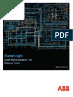 3BNP102055-181 AlarmInsight Alarm Rationalization Tool 1.8.1 Release Notes