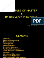 Structure of Matter and Its Relavence to Dentistry