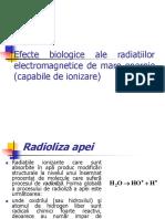 Efecte Biologice Ale Radiatiilor Electromagnetice de Mare Energie