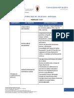 Requisitos básicos CNSC