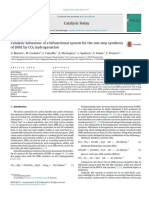 DME by CO2 Hydrogenation Catalysis Today- 2014