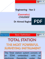 Tutorial 1 Total Station