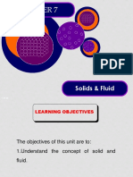 7.0 Solid and Fluid