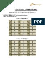Consulplan 2016 Prefeitura de Cascavel Pr Arquiteto Gabarito