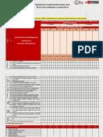 Planificación Anual UNI MULTI 2019