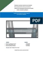 Trabajo de Concreto Armado, ingeniería Mecánica de Fluidos