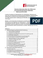 Anerkannte psychotherapeutische Methoden Österreich