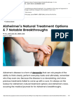 Alzheimer's Natural Treatment Options & Notable Breakthroughs - Dr. Axe