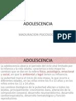 Adolescencia Dr Denis