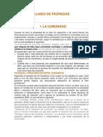 Clases de Propiedad - Derecho Civil Bienes