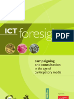 ICT Foresight Campaigningx and Consultation