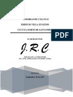 MEMORIAS DE CALCULO. EDIFICIO VILLA EUGENIO.pdf