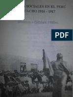 Zubieta - Luchas sociales en el Peru. Huacho 1916-1917