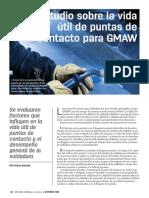 Estudio de La Vida Util de Las Puntas de Contacos en Proceso Gmaw(1)