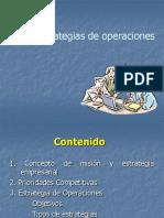 2.2 Estrategias de Operaciones en Un Entorno Global