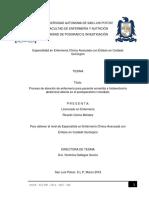 Proceso de atención de enfermería para paciente sometida a histerectomía abdominal abierta en el postoperatorio inmediato.pdf