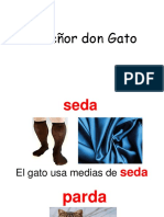 El Señor Don Gato Vocabulario