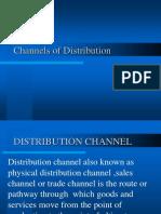 Unit 3distribution Channel Management